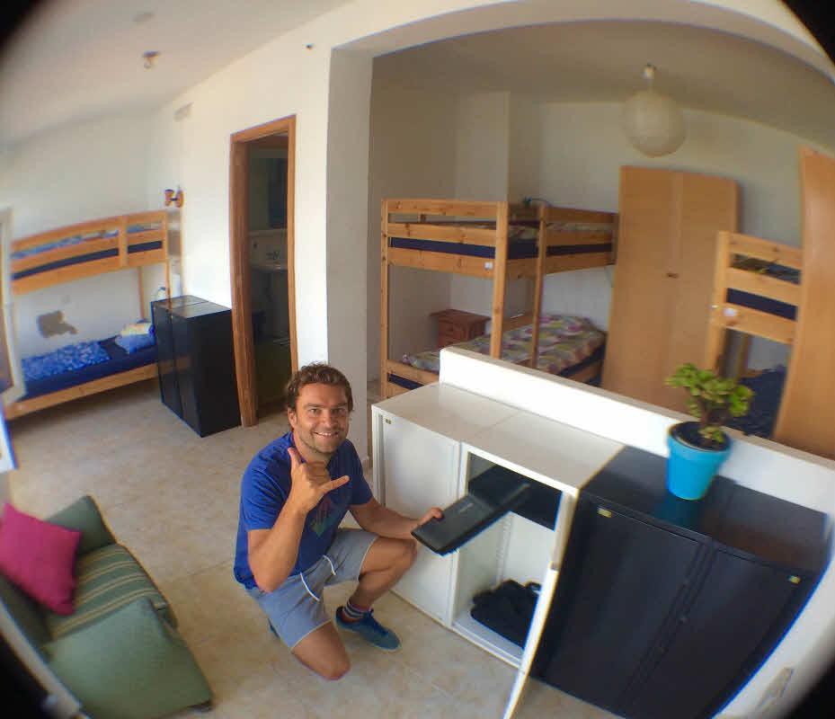 Unterkunft Surfcamp