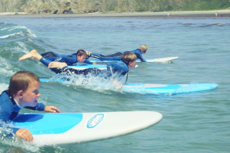 Surfkurs Kinder Crozon