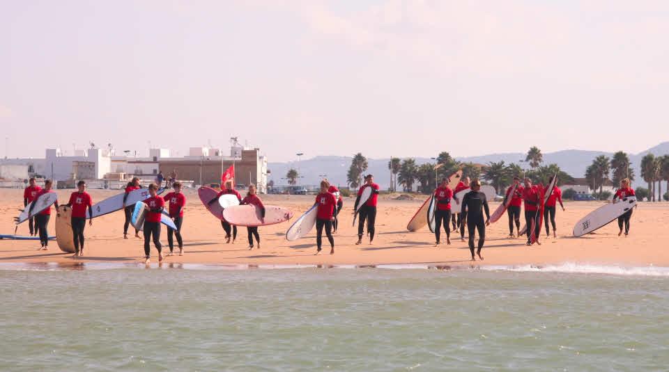 Surfen in Conil de la Frontera