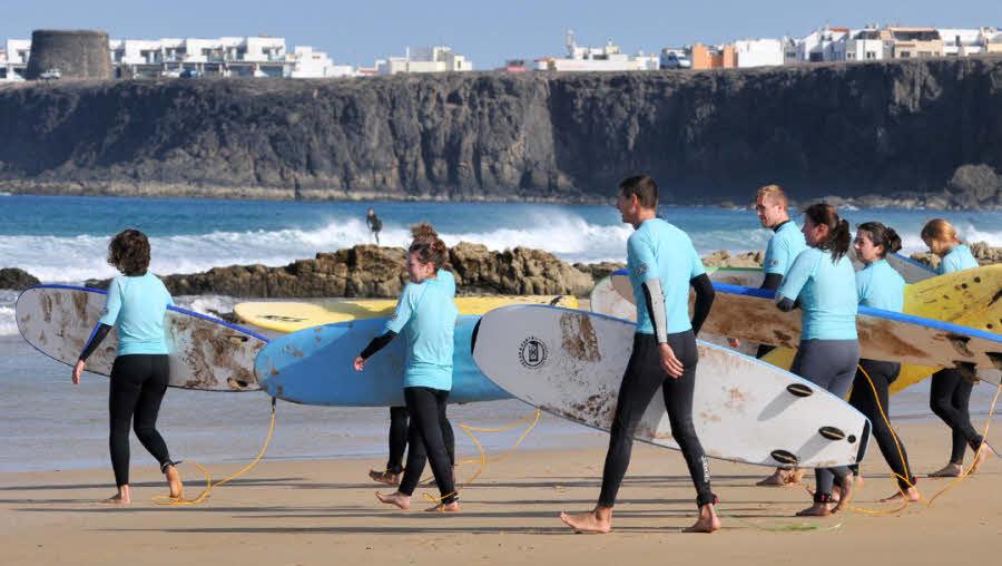 Surfschule Cotillo