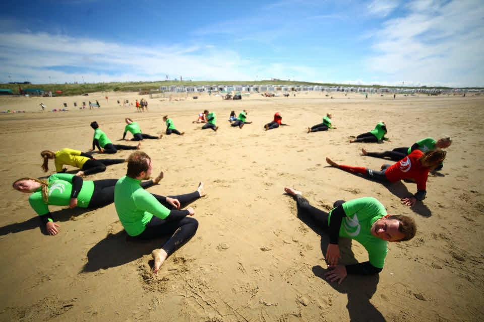 Surfen lernen Holland