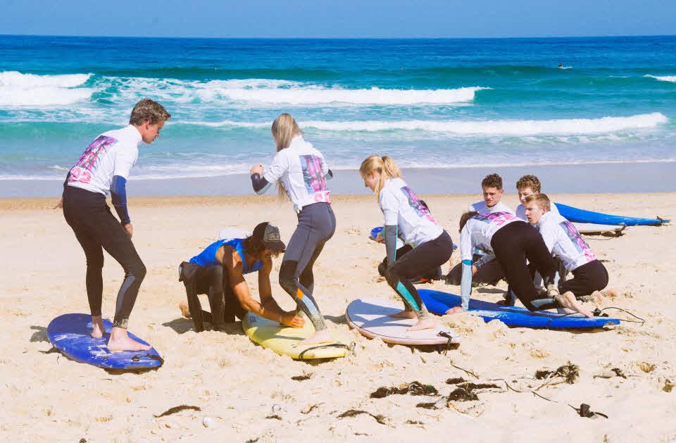 Surfschule Anfänger