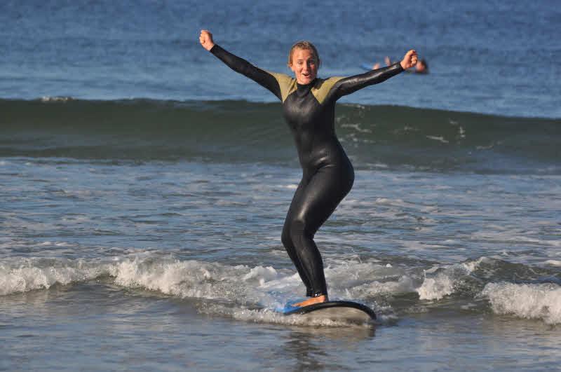 Wellenreiten Galizien
