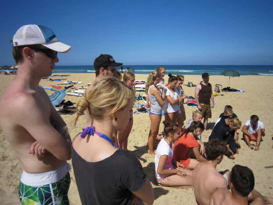 Familienurlaub Surfen Familien