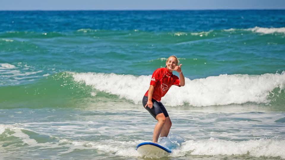 Surfen lernen Frankreich Surfurlaub