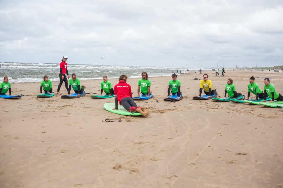 Surfschule in Zandvoort