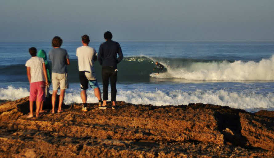 Surfsposts Andalusien