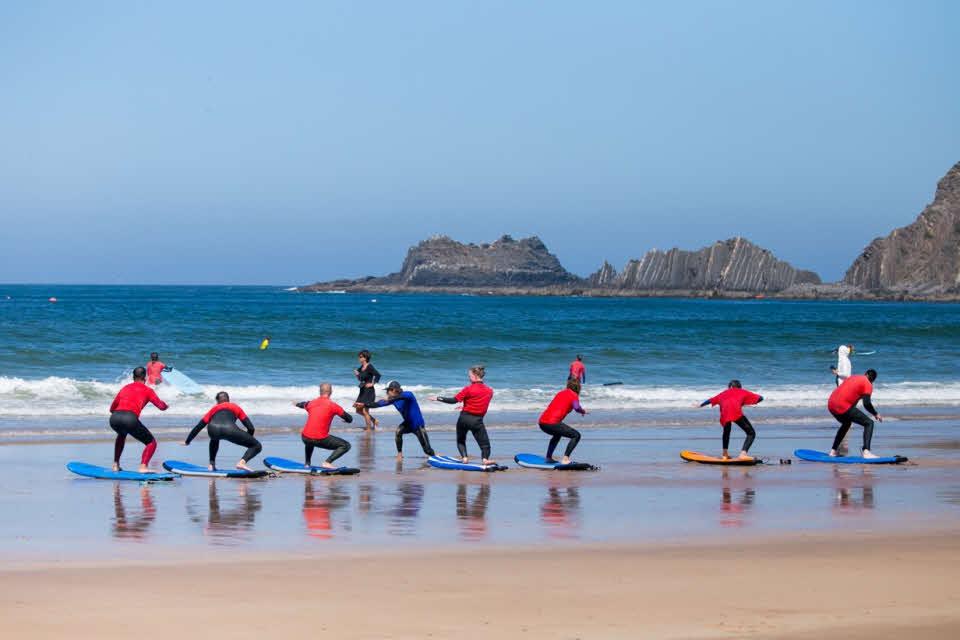 Surfschule Anfänger Arrifana