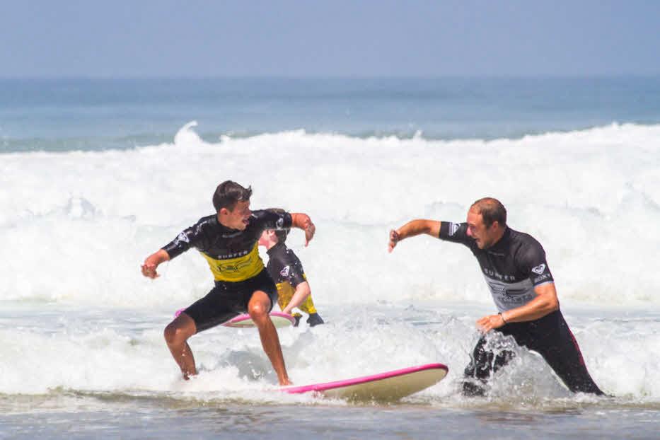 Surfen in St. Girons