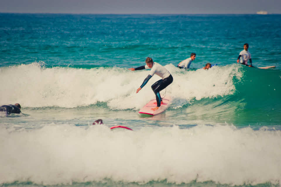 Surfen in Moliets