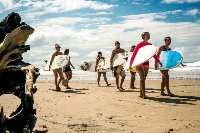 Manzanillo Surfen