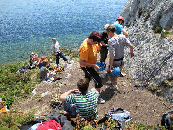 Kletterkurs Bretagne