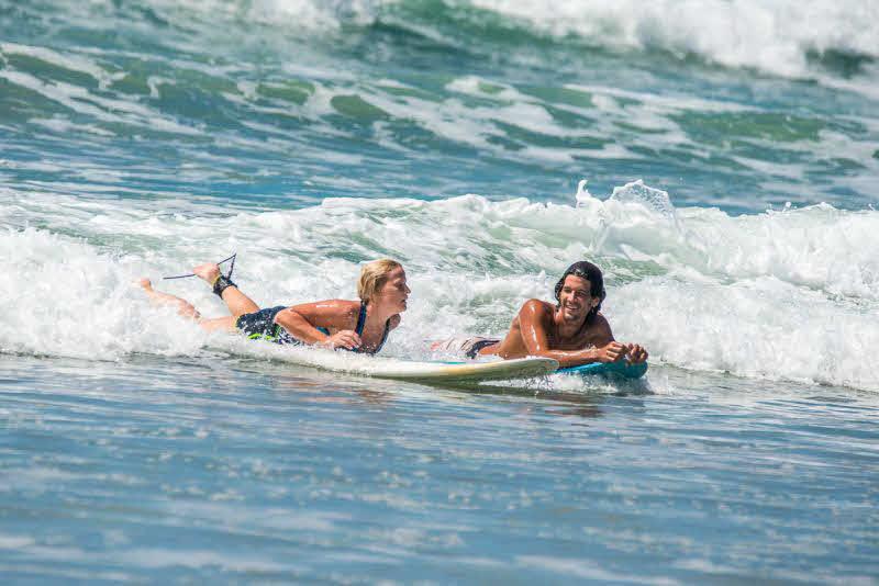 Anfänger Surfkurs Costa Rica