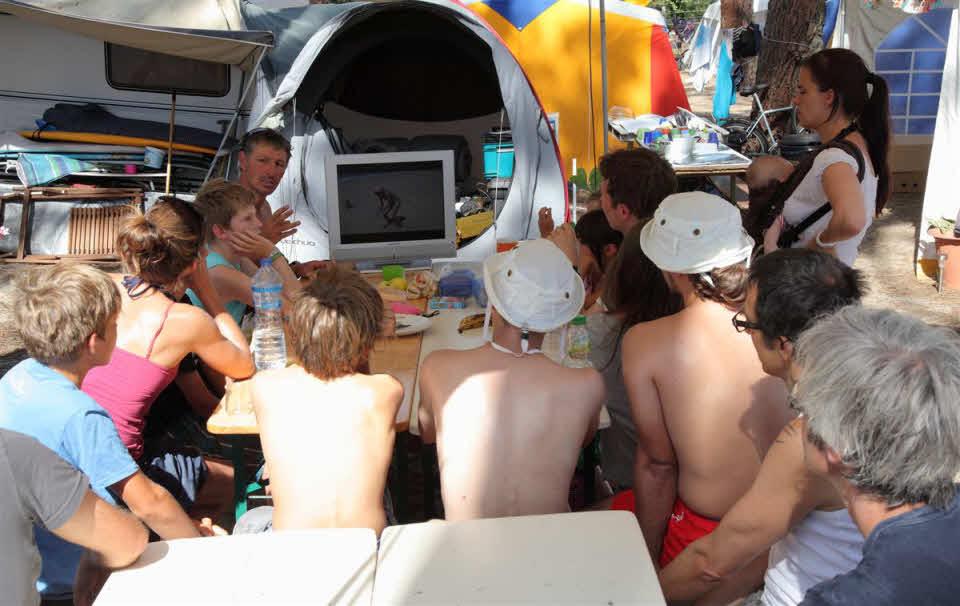 Familiencamp Frankreich