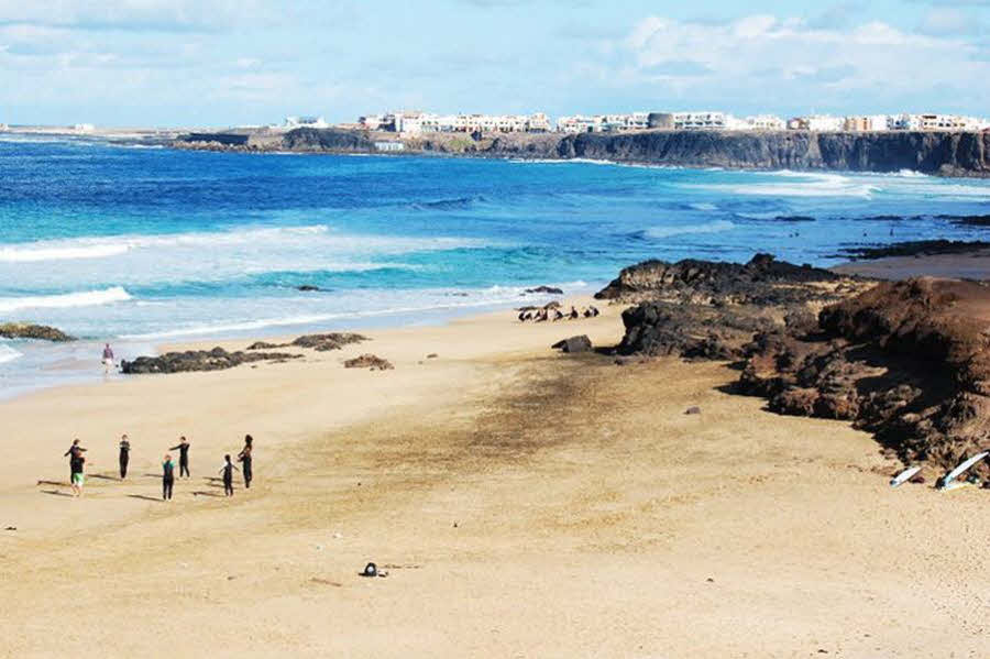 Surfspot El Cotillo