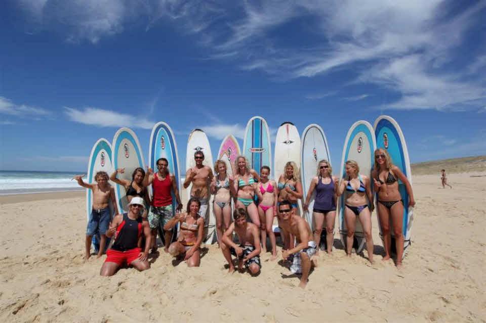 Surfcamp Familien