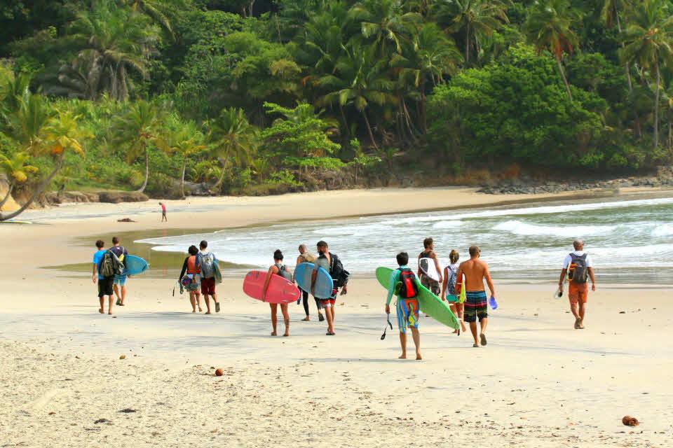 Surfreise Brasilien