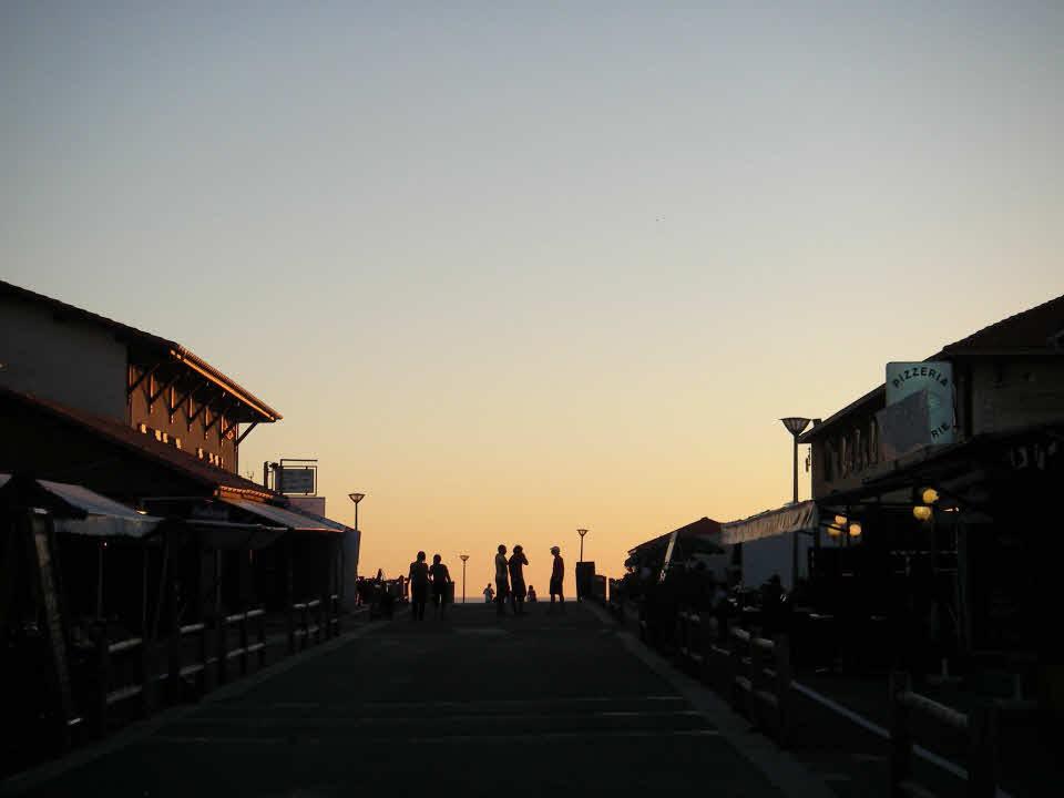 Sonnenuntergang St. Girons