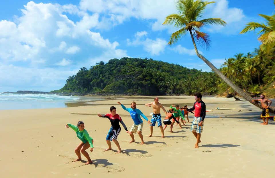 Surfschule Brasilien