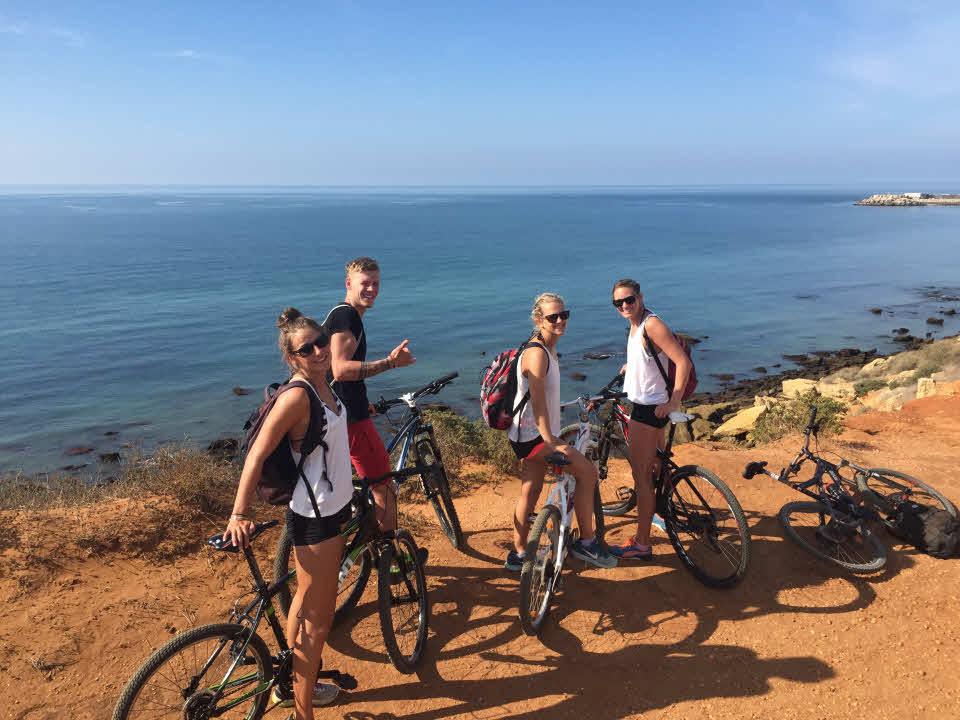 Biken Andalusien