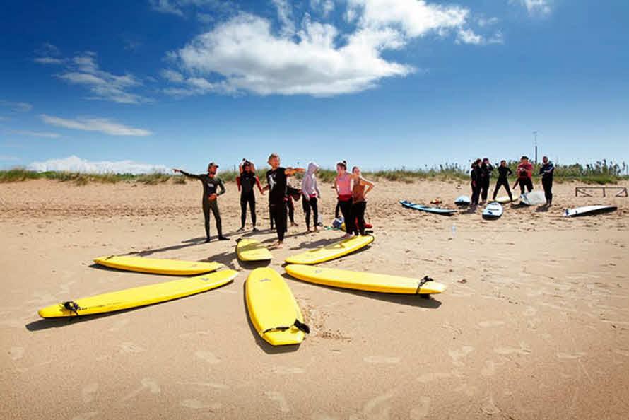 Wellenreiten lernen El Palmar