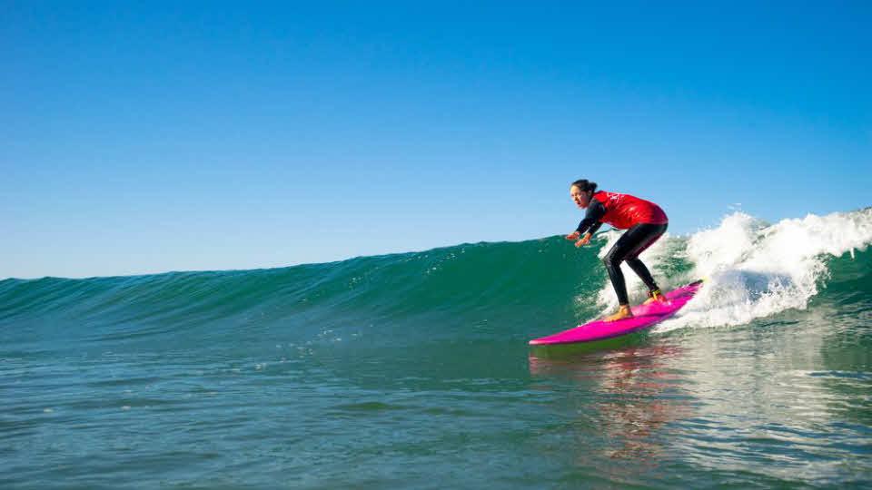 Surfen lernen in Frankreich