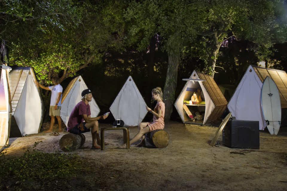 Moliets Campingplatz Sheddies