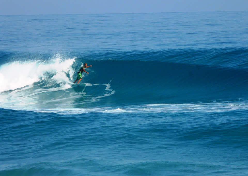 Surfen in der Dom Rep