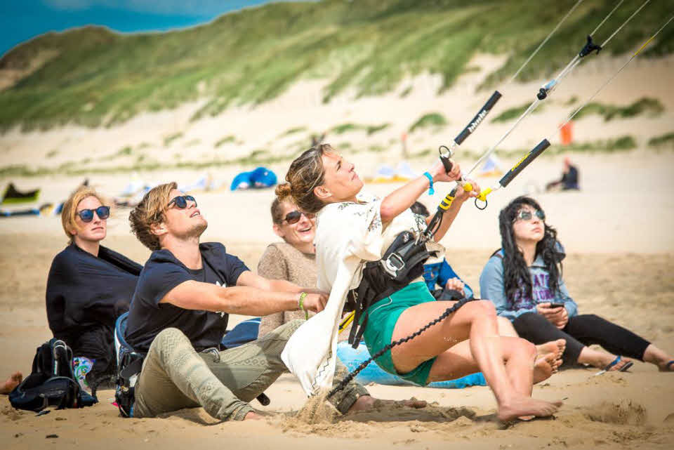 Kitesurfen lernen Holland