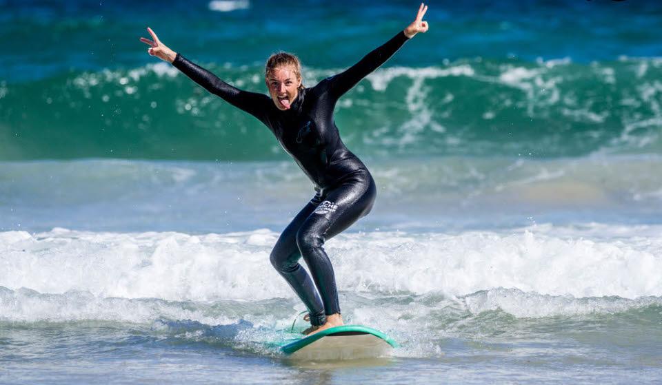Surfen in Peniche