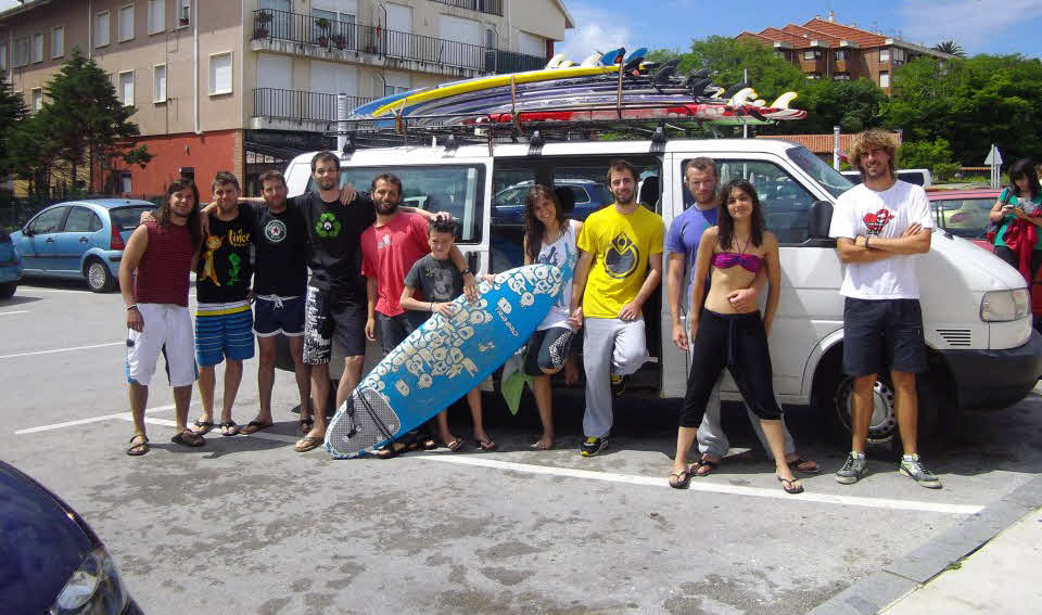 Surfcamp Suances