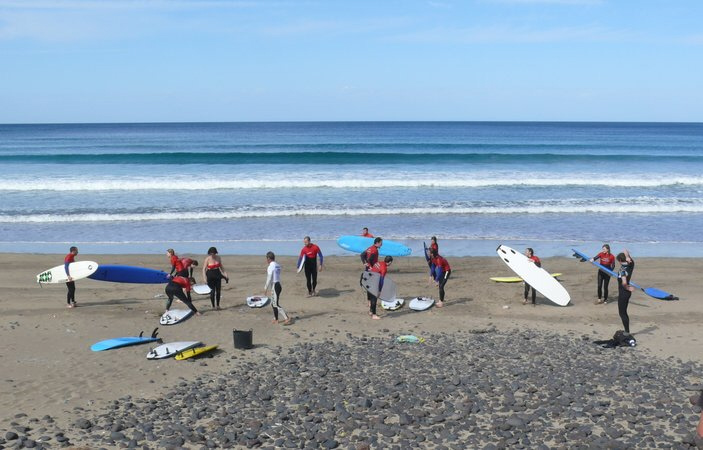 Surfen Famara Lanzarote