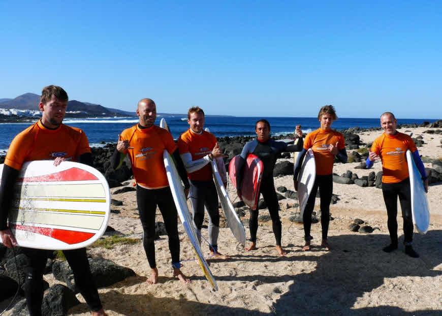 Wellenreiten Lanzarote