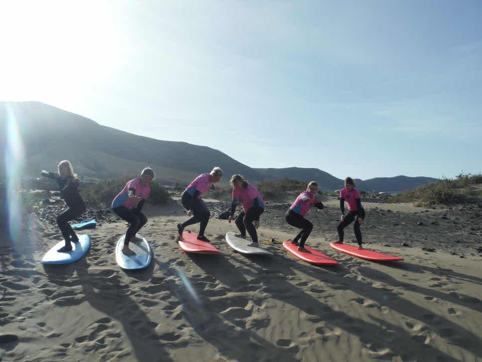 Surfkurs nur für Frauen