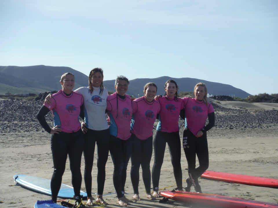 Girlscamp Lanzarote