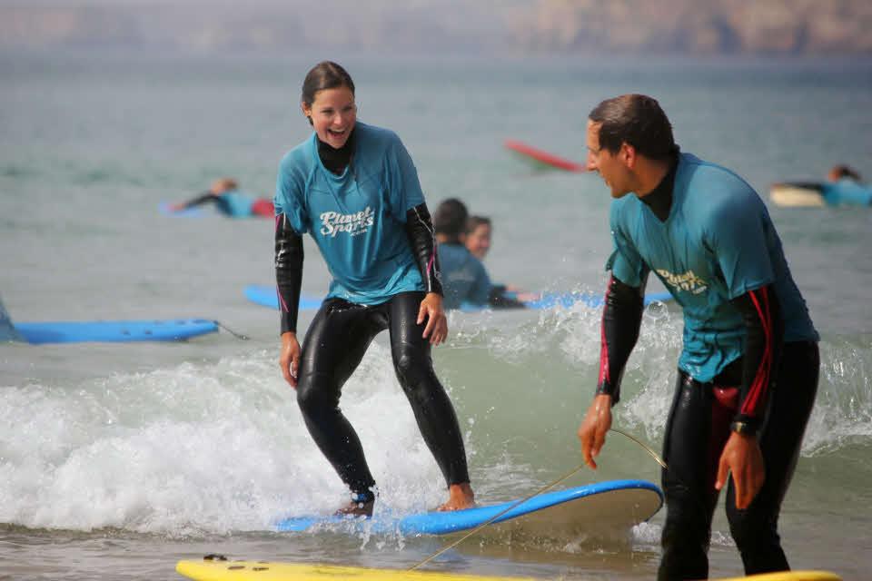 Surfen Algarve Anfänger