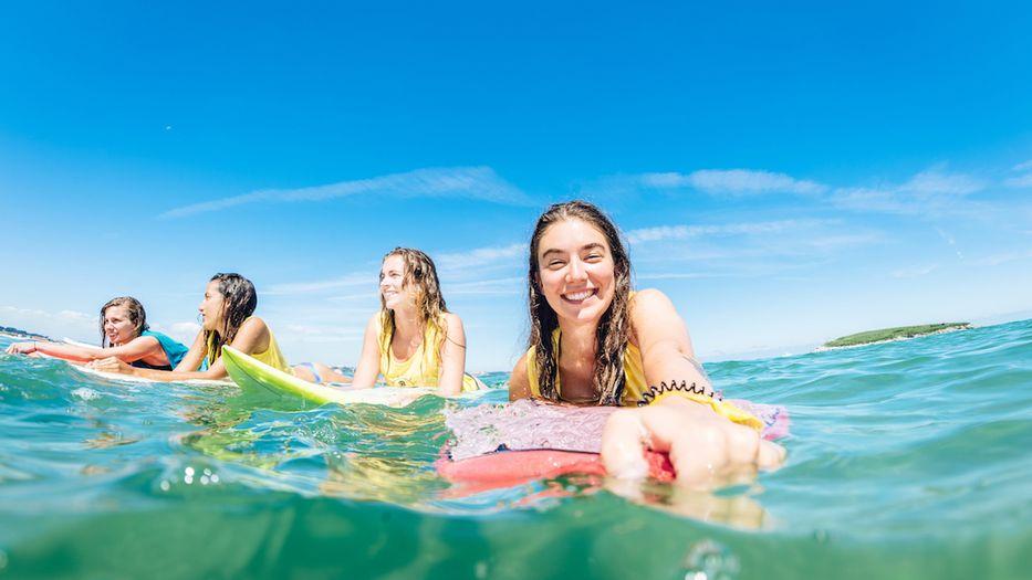 Surfkurs Jugendliche St. Girons