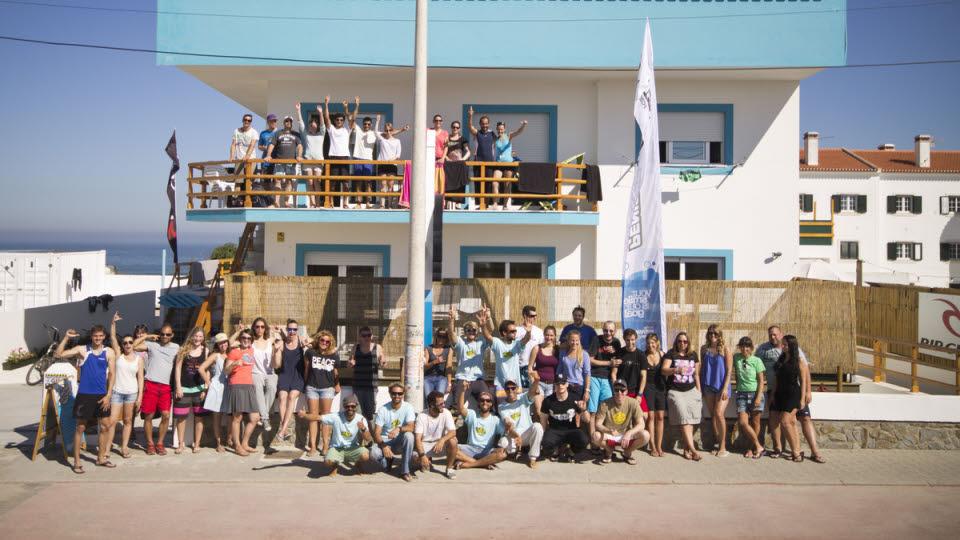 Surfkurs Peniche Surfschule
