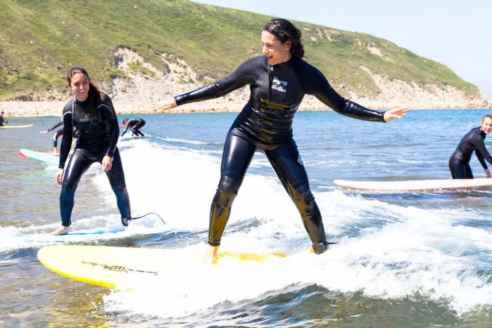 Surfen Sopelana