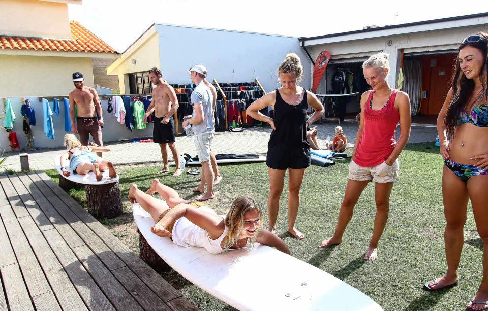 Surfkurs für Anfänger Esmoriz