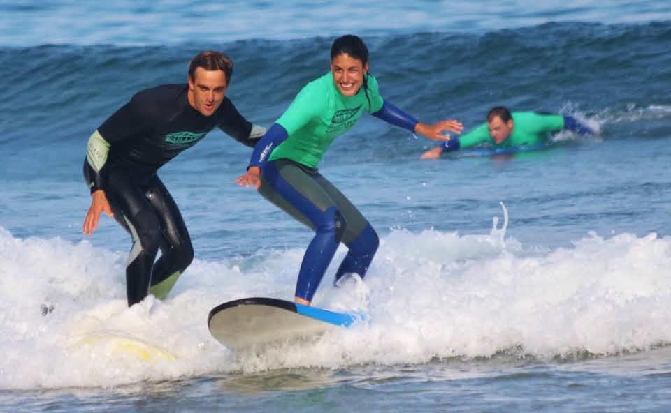 Anfänger Surfkurs Suances