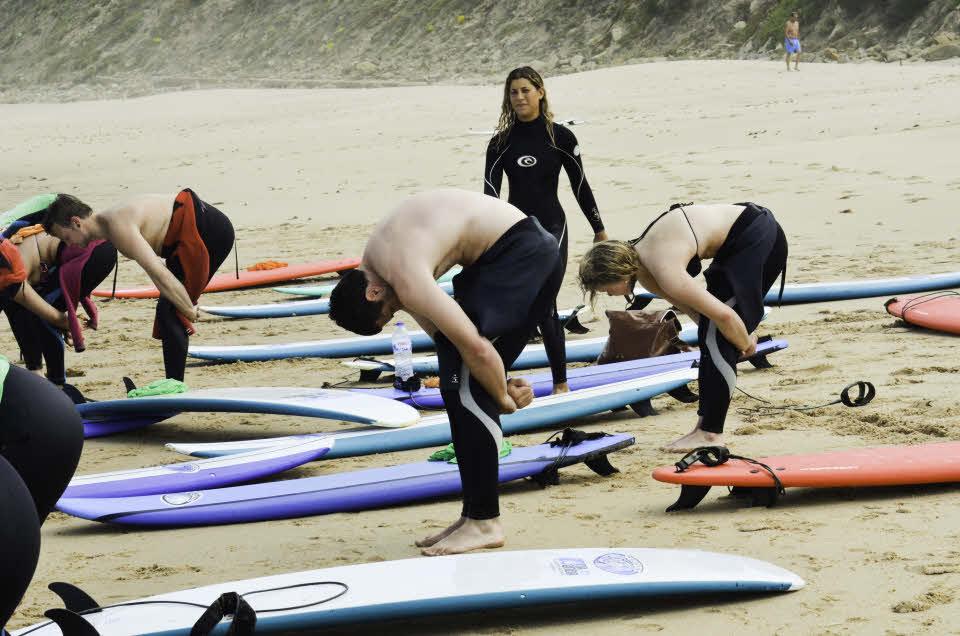 Surfkurs Ericeira