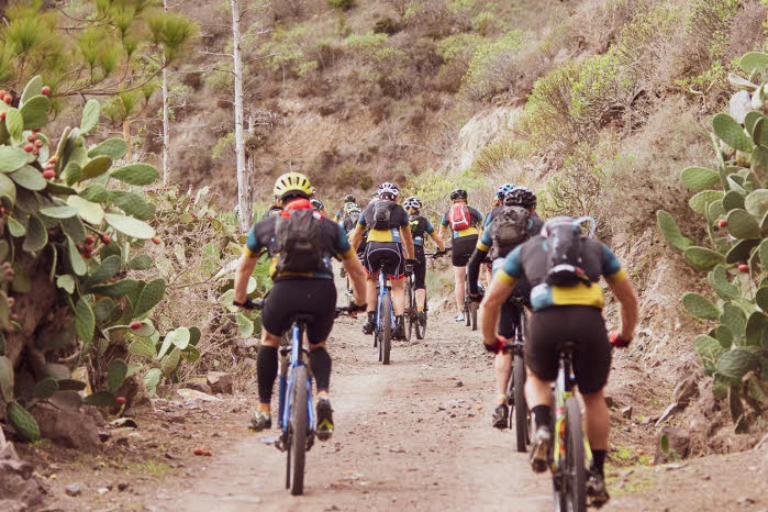 Biken rund um Las Palmas