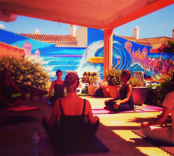 Yoga Surfcamp Algarve