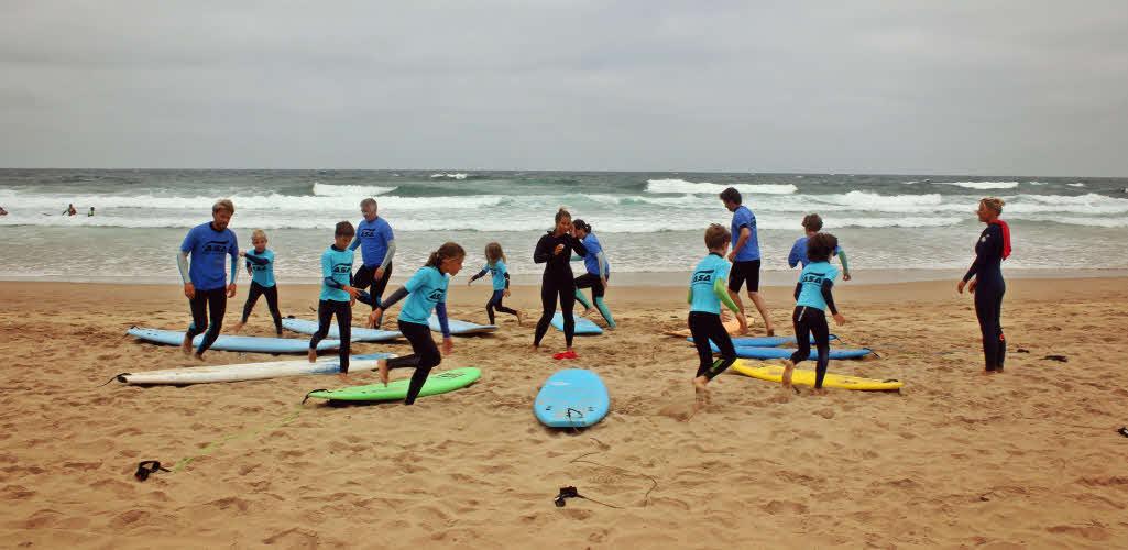 Surfcamp Familie Algarve
