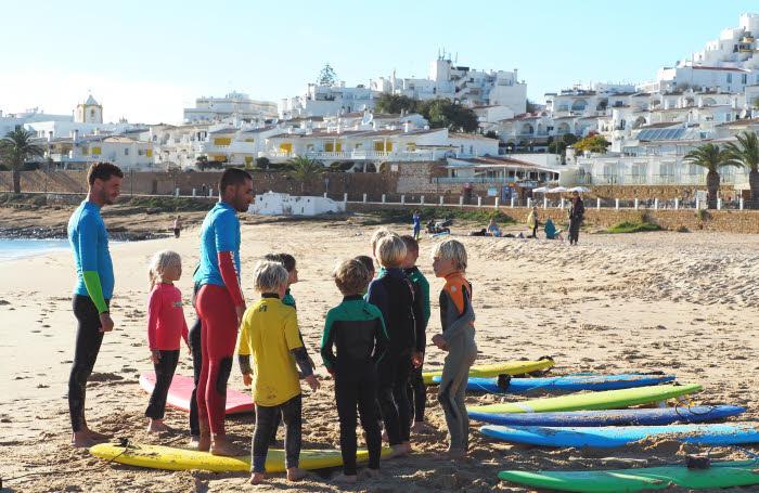 Surfcamp Familien Luz