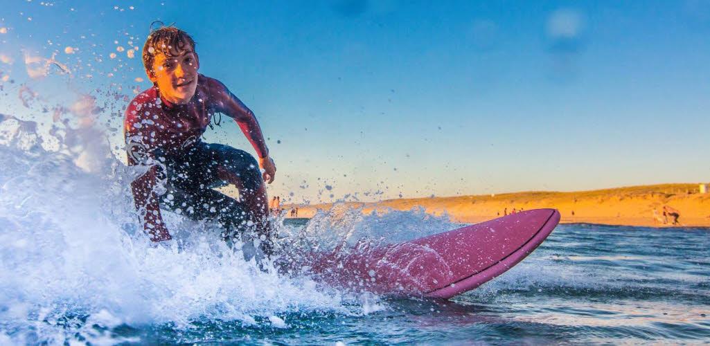 Jugend Surfcamp Frankreich
