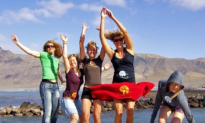Surfcamp Frauen Lanzarote