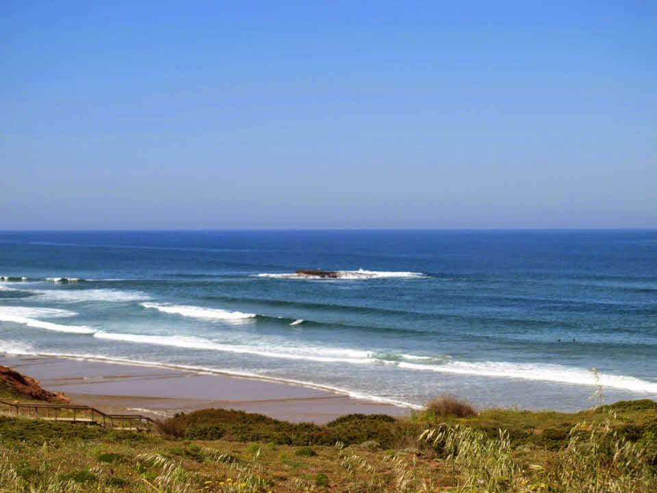 Surfen Wellen Algarve