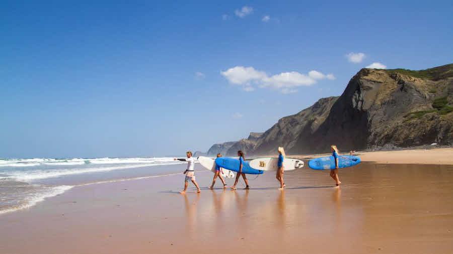 Surfkurse für Anfänger Algarve
